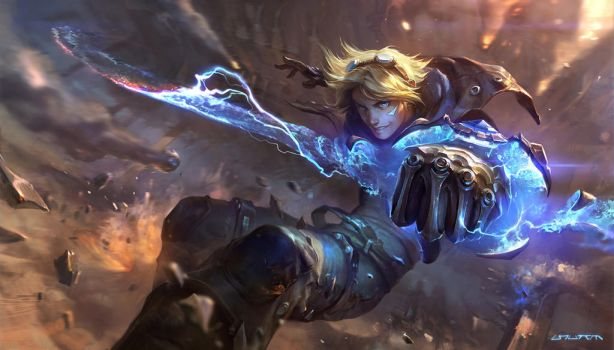 Ezreal splash base rework by su-ke