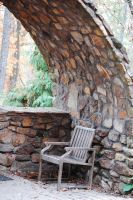 stone curves wall by MLeighS