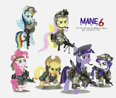 Mane Team Six by buckweiser