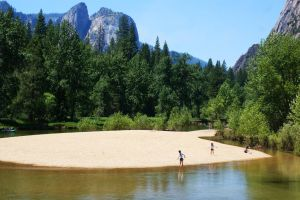 Yosemite Beach by ghikij