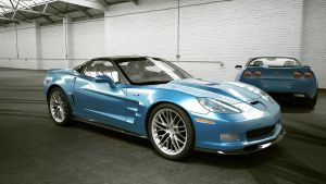 Chevrolet 2009 Corvette ZR1 by melkorius
