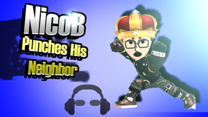 NicoB Smash 4 Splashboard by soulshield2