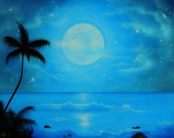 Midnight in the tropics by Higher-Vision-Media