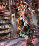 The Library by Naussi