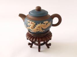 Chinese Teapot: Dragon by spellbound7