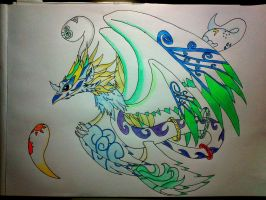 No.2 guardian, O.C Arcus, Sky Guardian (redone) by minecraftmobs456