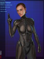 Sarah Palmer S IV core suit by zakuman
