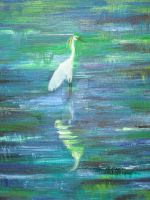 lonely heron by Enigma-thats-me