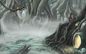 Dagobah Commission by LittleFoxStudio