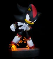 First 4 figures Shadow the Hedgehog statue by EGGMAN-X