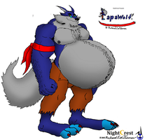 Ultimate Papawolf by NightCrestComics