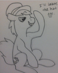 Just the hat by FrankieG2233