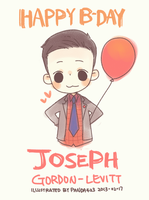 Joseph Happy Birthday by panda423