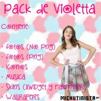 Pack De Violetta by MichuTinista