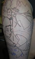 BFFs thigh sleeve - Lining 4 by Shipht