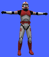 Red Shock Trooper by icemember