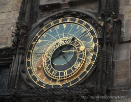 Astronomical clock by GadkiiKoiot