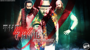 THE WYATT FAMILY WALLPAPER by AccidentalArtist6511