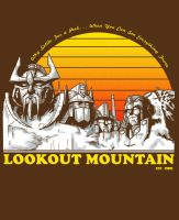 Lookout Mountain by ninjaink