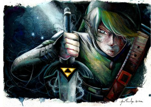Link - The legend of zelda by Jessonga