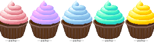 chocolate cupcakes by xfallenmoon