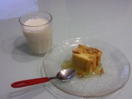Cheese cake with nuts and honey by jojogape