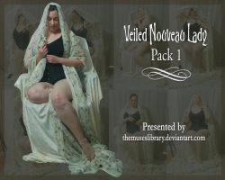 Veiled Nouveau Lady PACK 1 by themuseslibrary