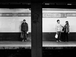 Subway view @ Canal St by PatrickMonnier