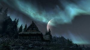 Elder Scrolls V: Skyrim - Wallpaper - 20 by Lonewolf898