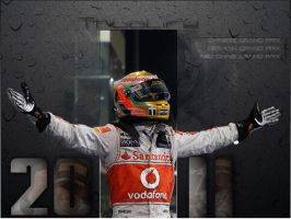 Lewis Hamilton 2011 by curtisblade