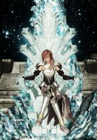 Lightning on Etros Throne by SerenaKaori87