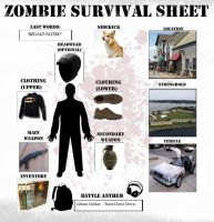 Zombie Survival Sheet by Basmalo