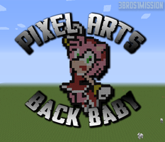 Pixel Arts Back Baby by 3Bros1Mission