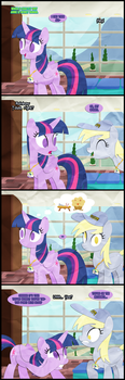 Rainbow Tales Replies: Derp and Derper by Narflarg