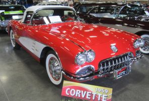 59 Chevy Corvette by zypherion