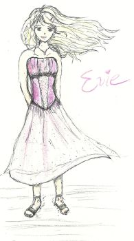 Evie from Paranormalcy by HaleyGottardo
