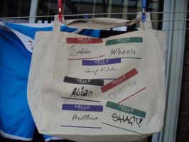 Roll Call Tote Bag by adams-ransom