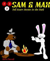Sam and Max Tell Scary Stories by StrongBrush1