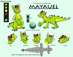 Mayauel Character Sheet by FablePaint