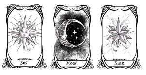 DoMT: Sun, Moon and Star by Karla-Chan