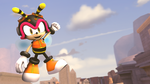 Flying high and good vibes Charmy by G-ManMobius