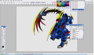 Freeflyer bladeasult mode wip by ThoronWild