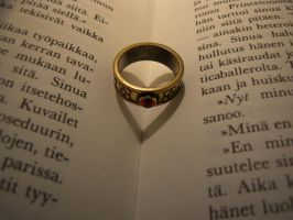 Ring heart Book by Pajunen