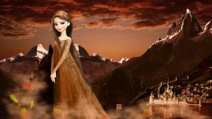 Frozen - 1920x1080 (Elsa Autumnal) by CoGraphiC