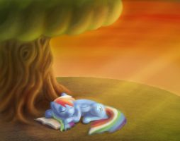 Rainbow Reading by Torcher999