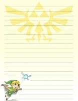 Stationery de Zelda by jensey