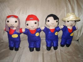 Imagination Movers Plushies by kiddomerriweather