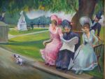 IN the Park with Grandma by Wulff-Arts