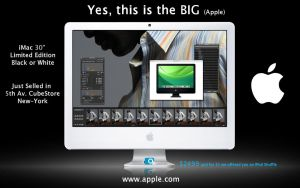 "iMac 30"" Advert by i-visual"