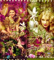 Selena and Taylor by bxromance